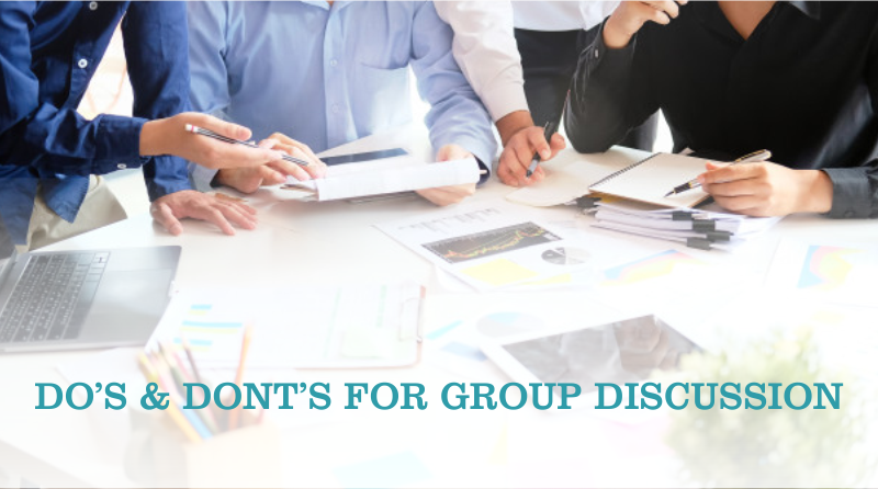 Do's And Dont's For Group Discussion