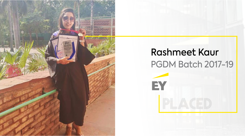 From attending the first class to getting placed in EY: Rashmeet Kaur