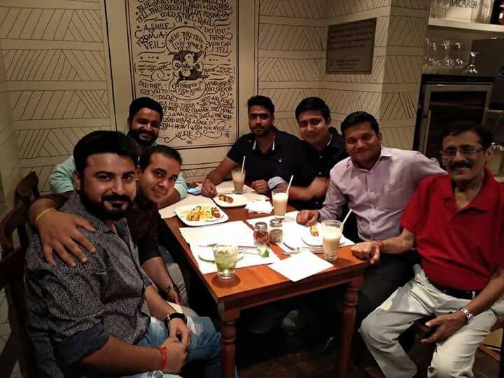 Alumni Coffee Meet of PGDM-IB in Delhi