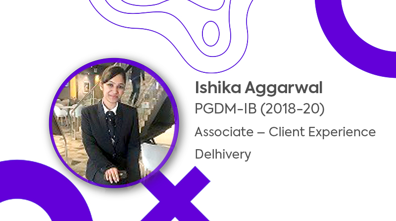 Placement of PGDM – IB Batch l Ishika Aggarwal l JIMS Rohini